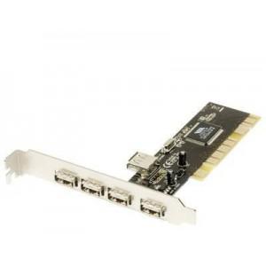 PCI USB CARD 4 PORT (5V)