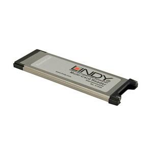 LINDY PCMCIA EXPRESS MULTI-CARD READER (51540)