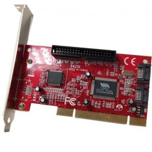 PCI 2PORT SATA & 1PORT IDE CARD (MP6421)