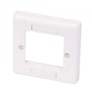 LINDY SINGLE FACE PLATE 86X86MM (60541)