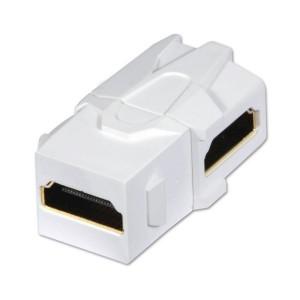 LINDY 90DEG HDMI SNAP IN KEYSTONE (60490)