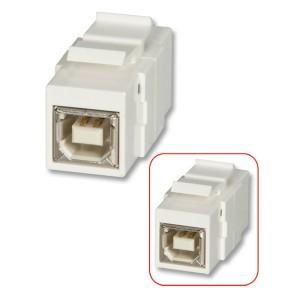 LINDY USB B TO B SNAP IN KEYSTONE (60554)