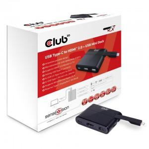 USB2.0 TYPE-C TO HDMI 4K60HZ CHARGE 60W MINI DOCK