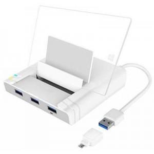 UNITEK 3-PORT USB + LAN OTG SMART DOCK (Y-2175) PHASE OUT