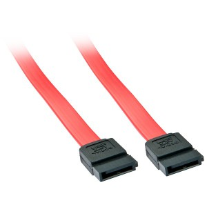LINDY 0.7M SATA3 CABLE- NO CLIP (33325)