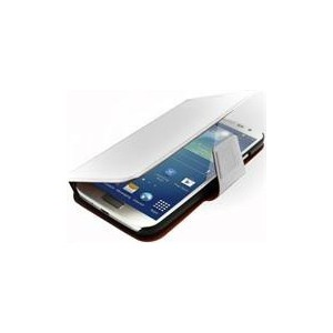 Promate 6959144000787 Zimba-S4 Premium Book-Style Flip Leather Case  with Card Insert for Samsung Galaxy S4