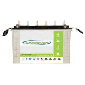 Discover 12VRE1400TF-L 105AH Deep Cycle Battery - 12 Volt