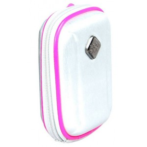 Promate 2161815113212 Amba Aluminum Finish Camera Case with Inner Bubble Pad Protector