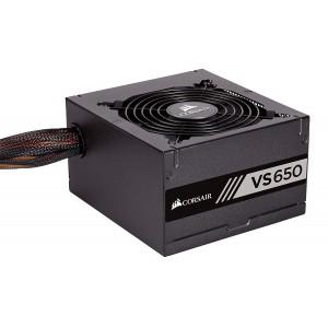 Corsair CP-9020172 650W Certified Power Supply (Black)
