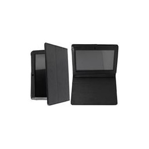 Geeko GV0002 Velocity Leather Like Cover - Black