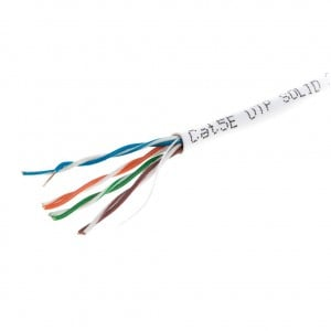 Network Cable CAT5 UTP Copper Solid 305 Meter Roll