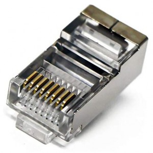 Microworld RJ45-FTP-50 CAT5 Shielded RJ45 Connectors - 50 pack