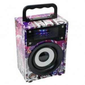 Microworld KTS-668A Portable Radio / Speaker