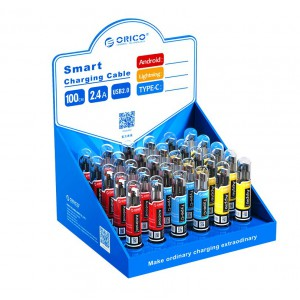 Orico SGX-NL-30-PRO Smart Charging Cable Box | 10 x MicroUSB|10 x Lightning/8Pin | 10 Type-C