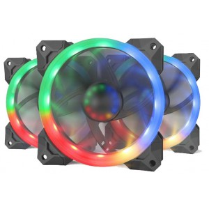 Redragon RD-GC-F008 3xRGB LED Full Colour Fan