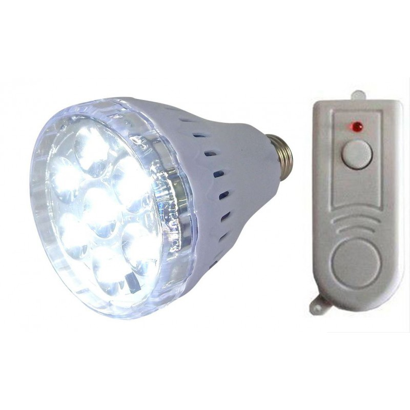 35w Rechargeable Screw In Led Light Bulb With Battery And Remote