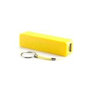 Geeko PB2600-YEL PowerBar 2600 mAh Universal Power Bank - Yellow