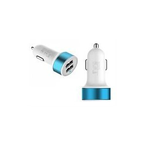 Geeko SDUCAR-CHT Smart Dual USB Car Adapter Charger
