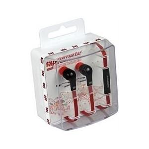 Promate 0161815121189-B Aurus Multifunction Stereo Hands-free Earphone-Black