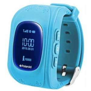 Polaroid PMOJI5 Light Blue Kids Gps Tracking Watch