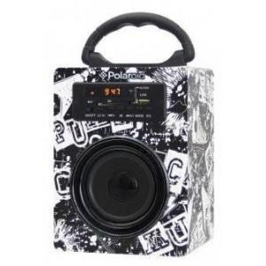 Polaroid PBS333 Classic Black and White Bluetooth Speaker