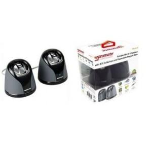 Promate 2161815918312 Irock.2 Portable Mini Hi Fi Speakers