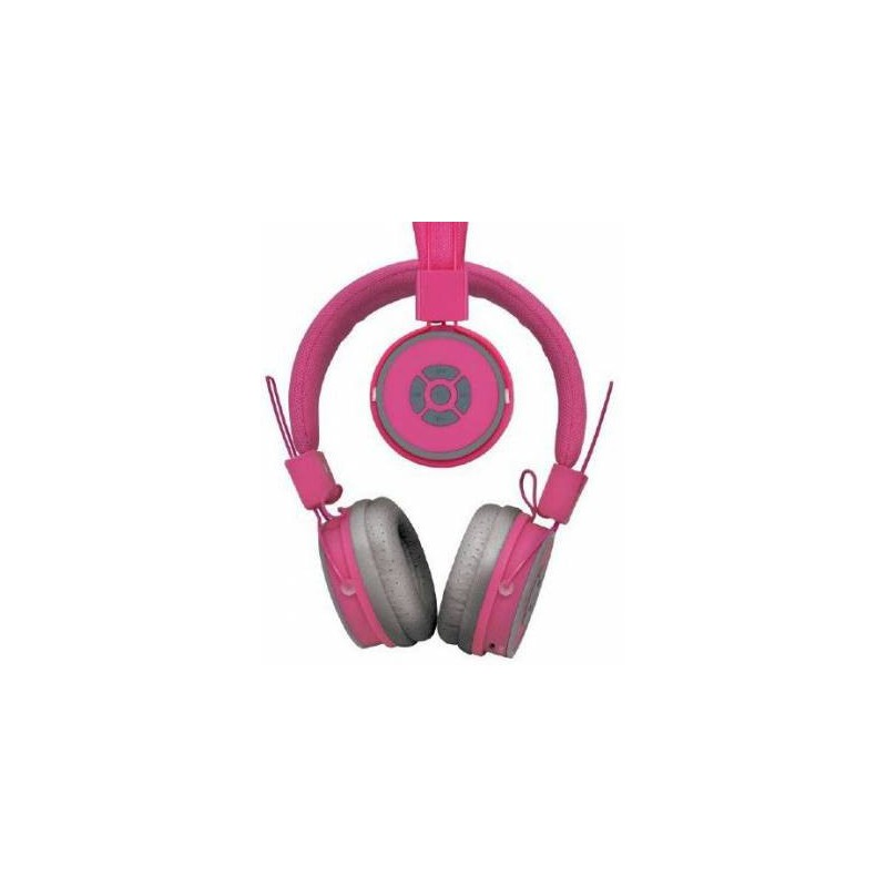 Polaroid PBH4003 Compact Pink Bluetooth Wireless Stereo Headset
