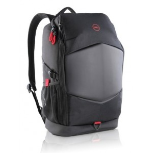"Dell 460-BCDH-CSB Pursuit Backpack 15.6"" - Notebook Backpack Black with Red Accents"