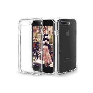 Orzly PORZFLEXIPH7BIGCLR FlexiCase for iPhone 7 and 8 Plus - Clear