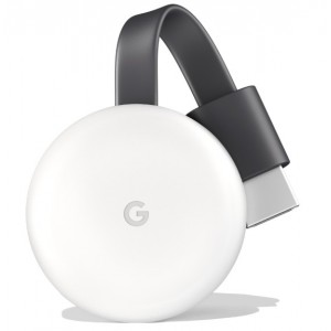 Google Chromecast HDMI Wireless Video Streaming Media Player (3rd Gen)