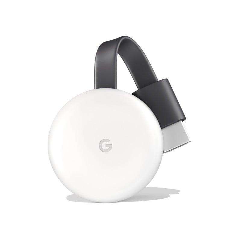 Google Chromecast HDMI Wireless Video Streaming Media Player (3rd Gen)  White - GeeWiz