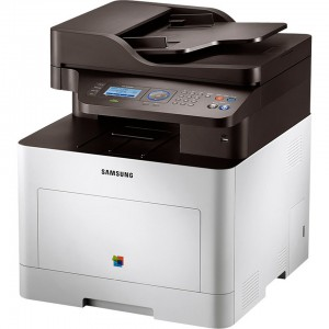 Samsung Electronics CLX-6260FD Color Multifunction Laser Printer with Scanner, Copier and Fax - USB printing