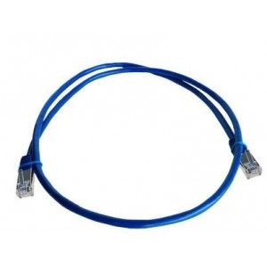 Linkbasic FLY-1S 1 Meter FTP Cat5e Patch Cable Blue