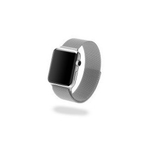 Jivo JI-2072 Milanese Strap for Apple Watch - 38mm (Silver)