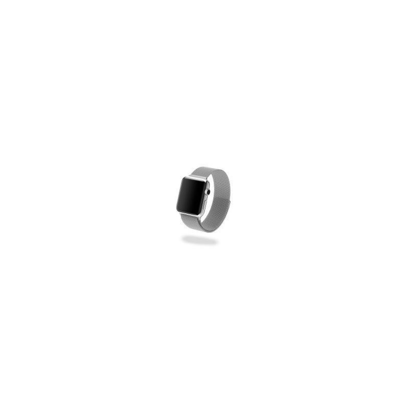 Jivo JI-2072 Milanese Strap for Apple Watch - 38mm (Silver)