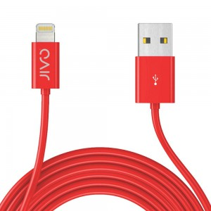 Jivo JI-1861 3 m X-Long Lightning Cable - Red