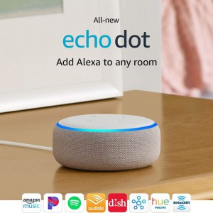 Amazon All-New Echo Dot (3rd Generation) - Sandstone