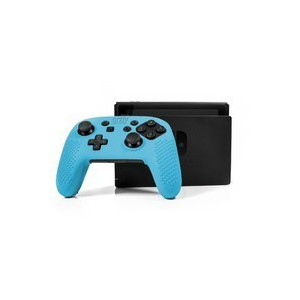 Orzly 2NSWPROCONTFLXBLUE FlexiCase for Nintendo Switch Pro Controller - Blue