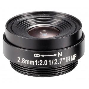 Brickcom M127F02820IR Fixed Focal Lens,CS mount, 2.8mm