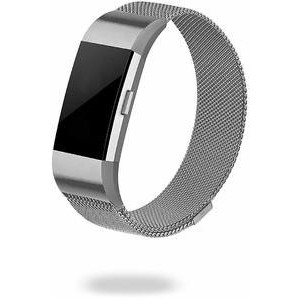 Jivo JI-2066 Milanses Strap for the Fitbit Charge/Charge 2 - Silver