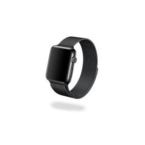 Jivo JI-2080 Milanese Strap for Apple Watch - 38mm (Black)