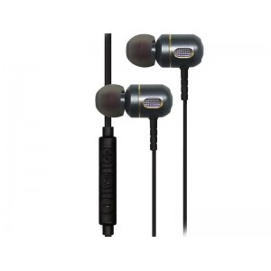 Jivo JI-1920 Metal Earbuds with 3 button Mic Silver