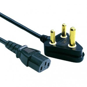 Microworld POWERCORD Power Cable - 3 Pin Plug to Kettle Plug