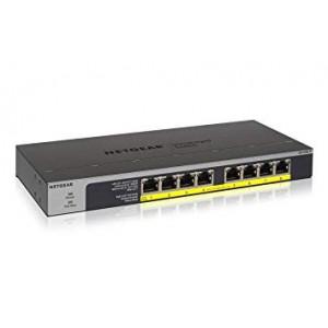 Netgear N.GS108LP-100EUS 8-Port Gigabit Ethernet PoE+ Unmanaged Switch