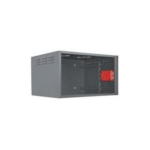 """Intellinet 714433 19"""" Secure Wallmount Cabinet - 6U"""