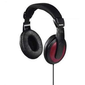 Hama 184012 Basic4Music Over-Ear Stereo Headphones