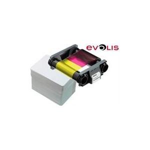 Evolis CBGP0001C Consumable Pack for 100 Color Prints