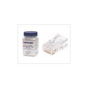 Intellinet 790512 100-Pack Cat5e RJ45 Modular Plugs