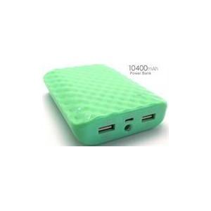 ifatel SPB-10400-GN Power Bank 10400 MAh Capacity with Flash Light - Green