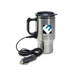 Esquire MW-Q1073 Stainless Steel Car Travel Mug with Charger